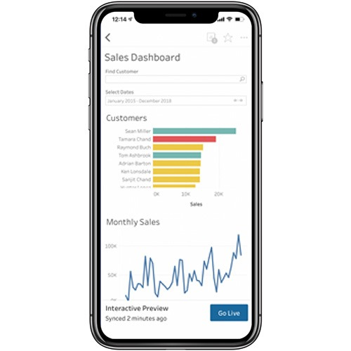 Image of Introducing improved online/offline flows in Tableau Mobile