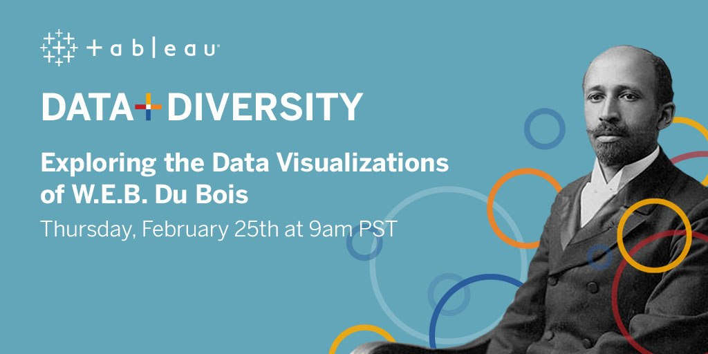Data + Diversity Event Exploring Data Visualizations of W.E.B. Du Bois