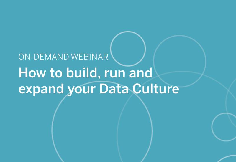 Data Culture webinar image