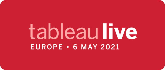 Tableau Live Europe - 6 May 2021