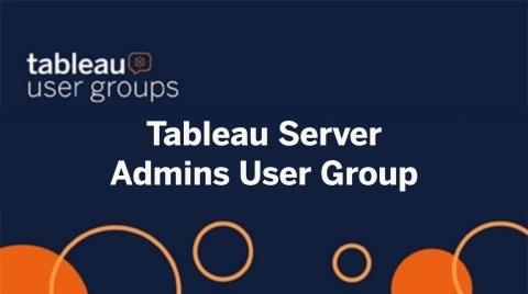 AMER Tableau Server User Group