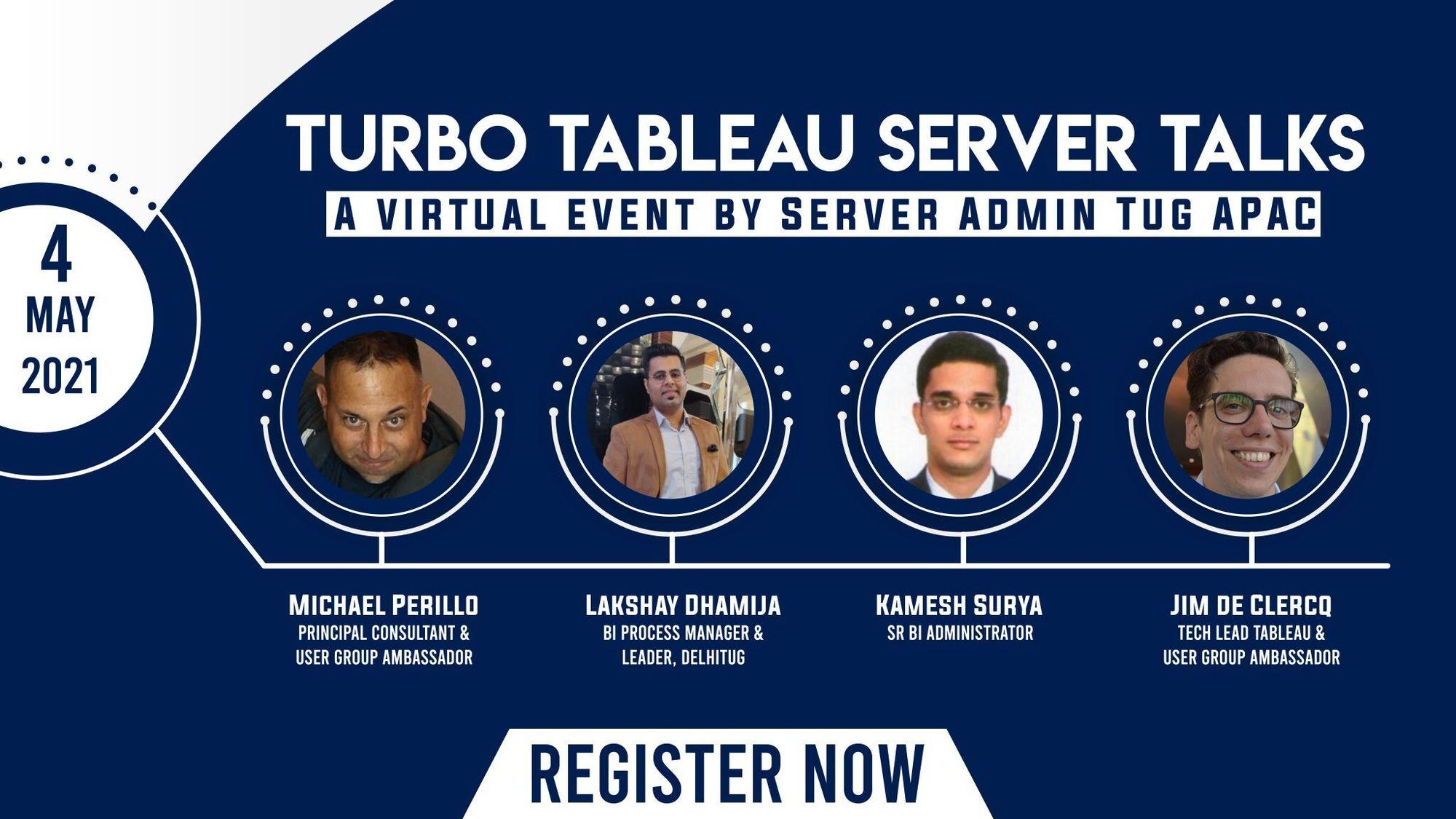 Turbo Tableau Server Talks