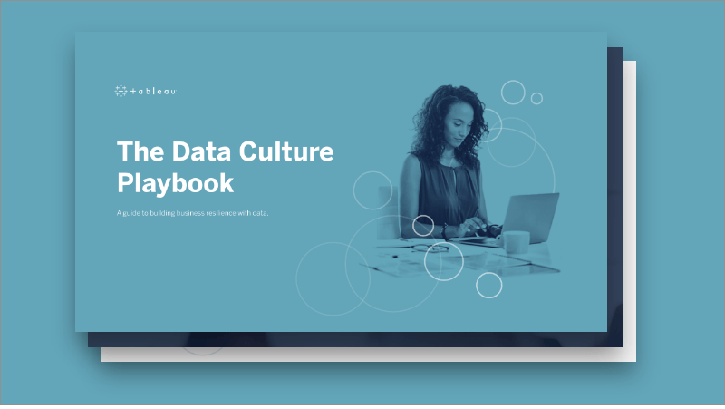 Data Culture Playbook cover