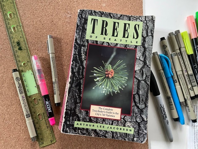Trees of Seattle by Arthur Lee Jacobson