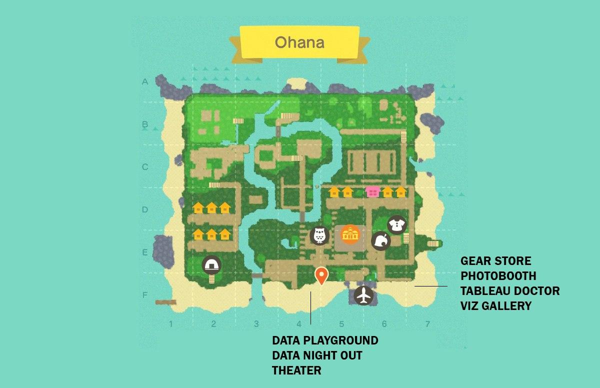 Animal Crossing Map