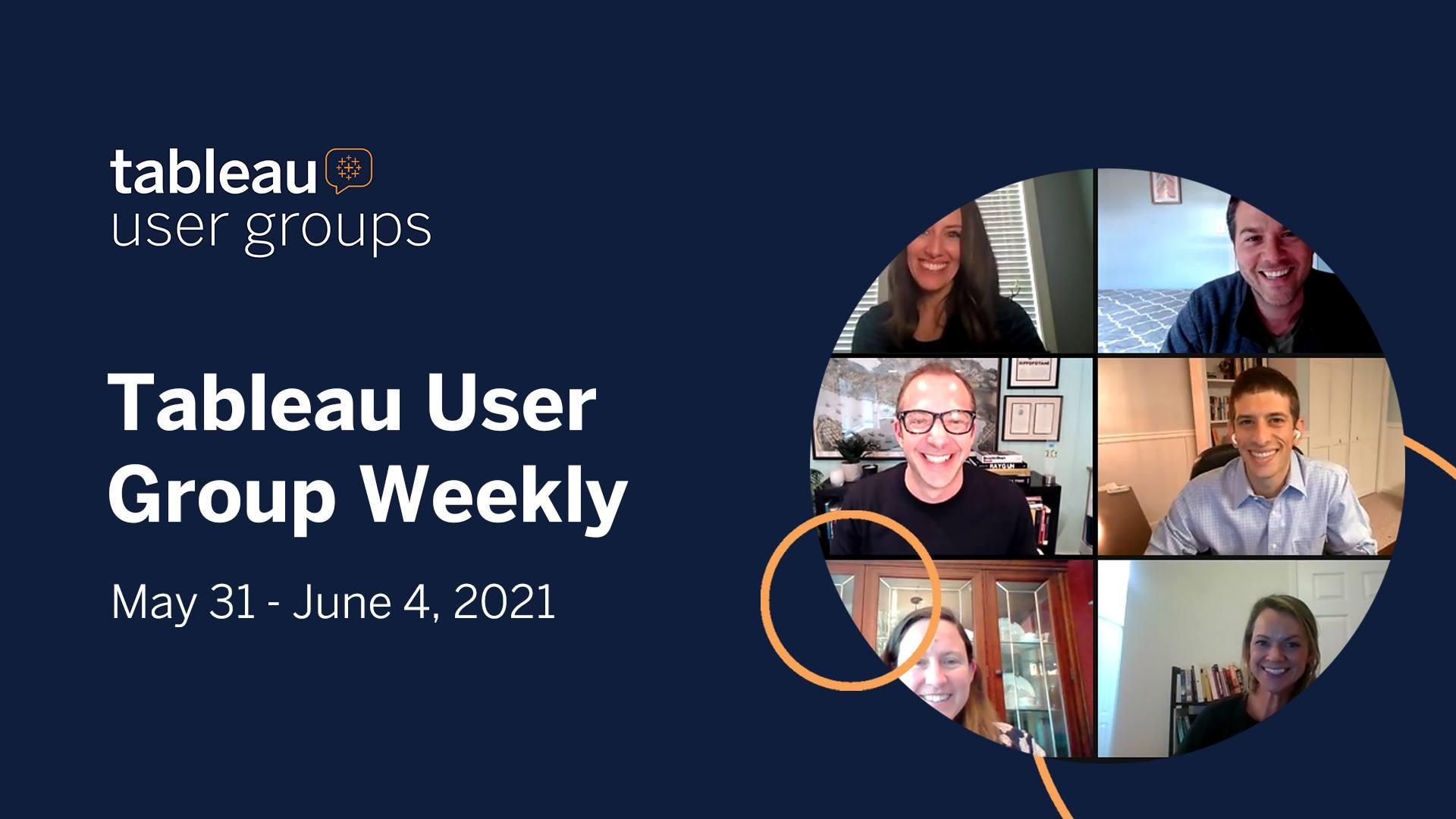 User Group Weekly Header