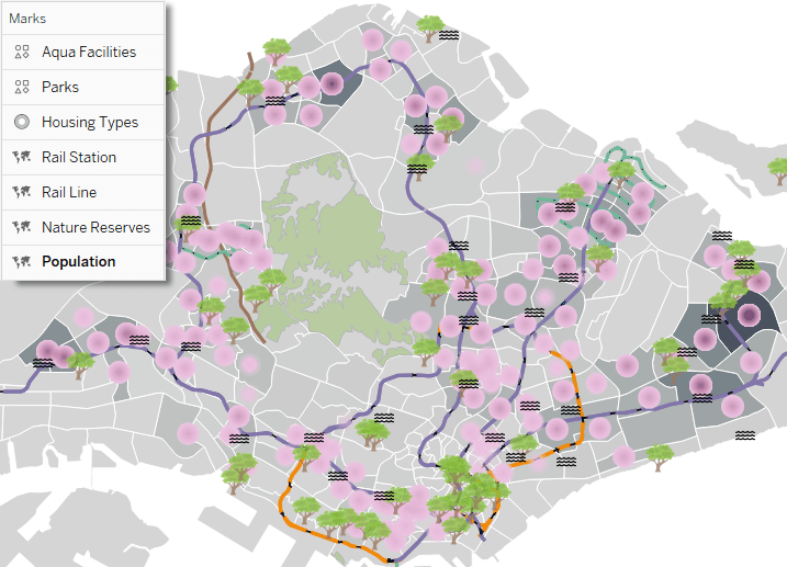 Using Map Layers to Combine Spatial Data