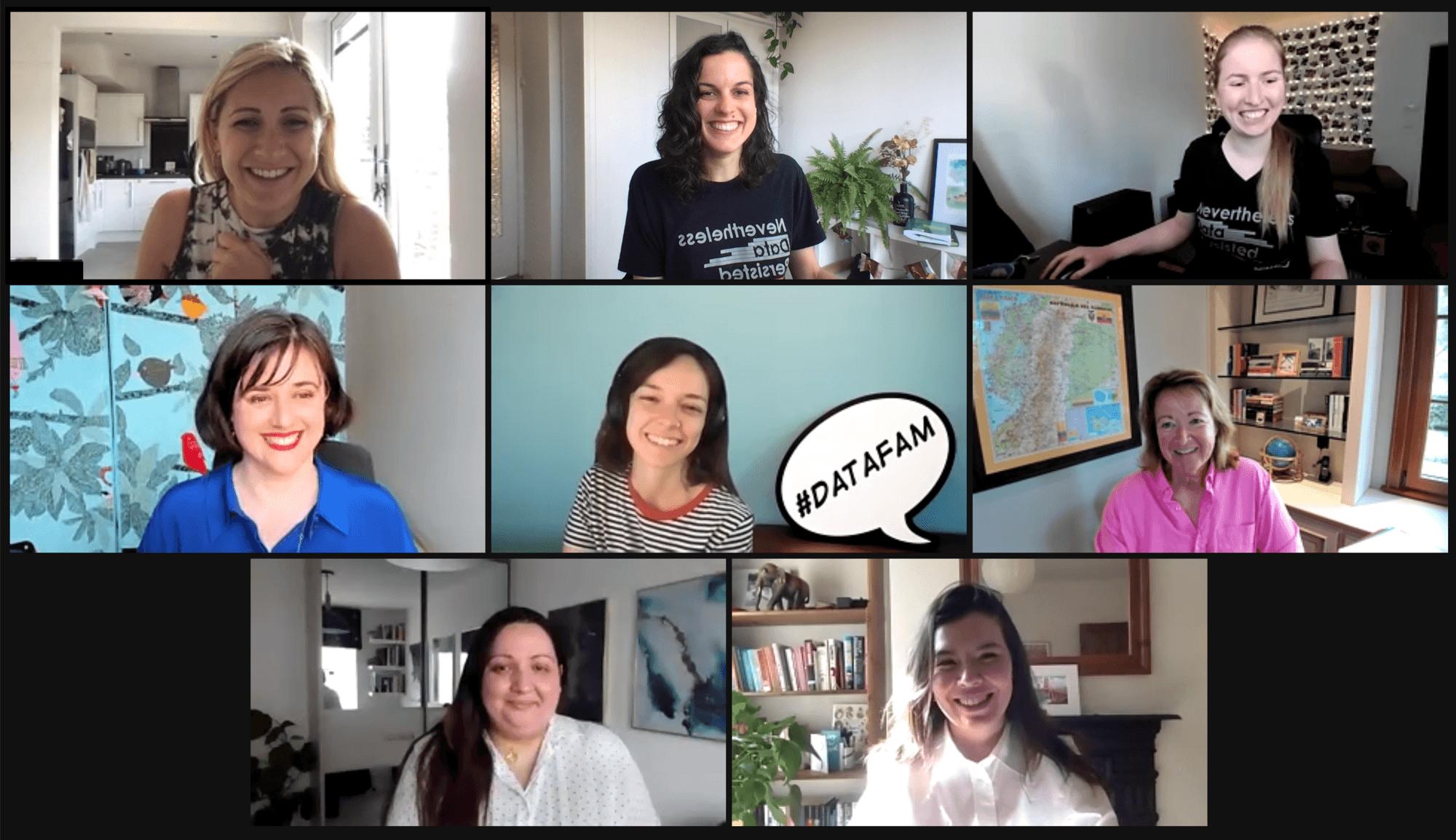 Data + Women Global Meetup