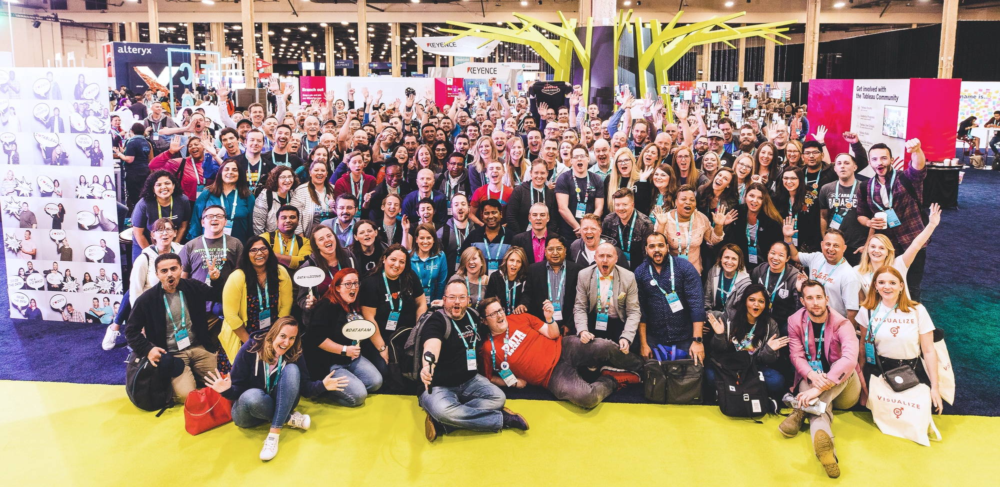 Tableau Community Group Photo at TC