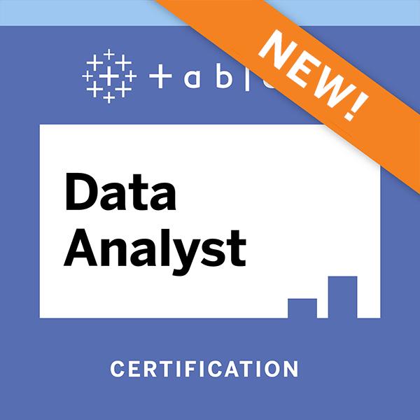 Tableau Certified Data Analyst