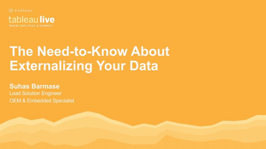 Navigate to The Need-to-Know About Externalising Your Data