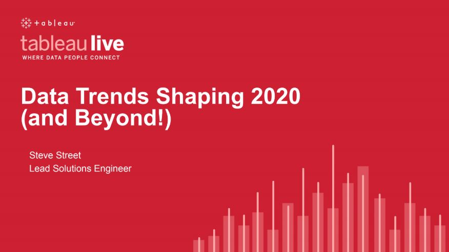 Navigate to Data trends shaping 2020 (and beyond!)