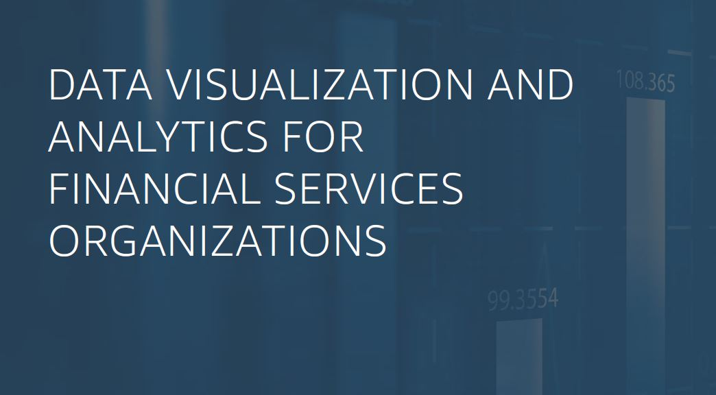 Navigate to Self-service analytics for financial services organizations