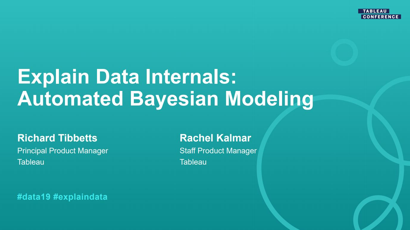 Ir a Explain Data Internals: Automated Bayesian Modeling