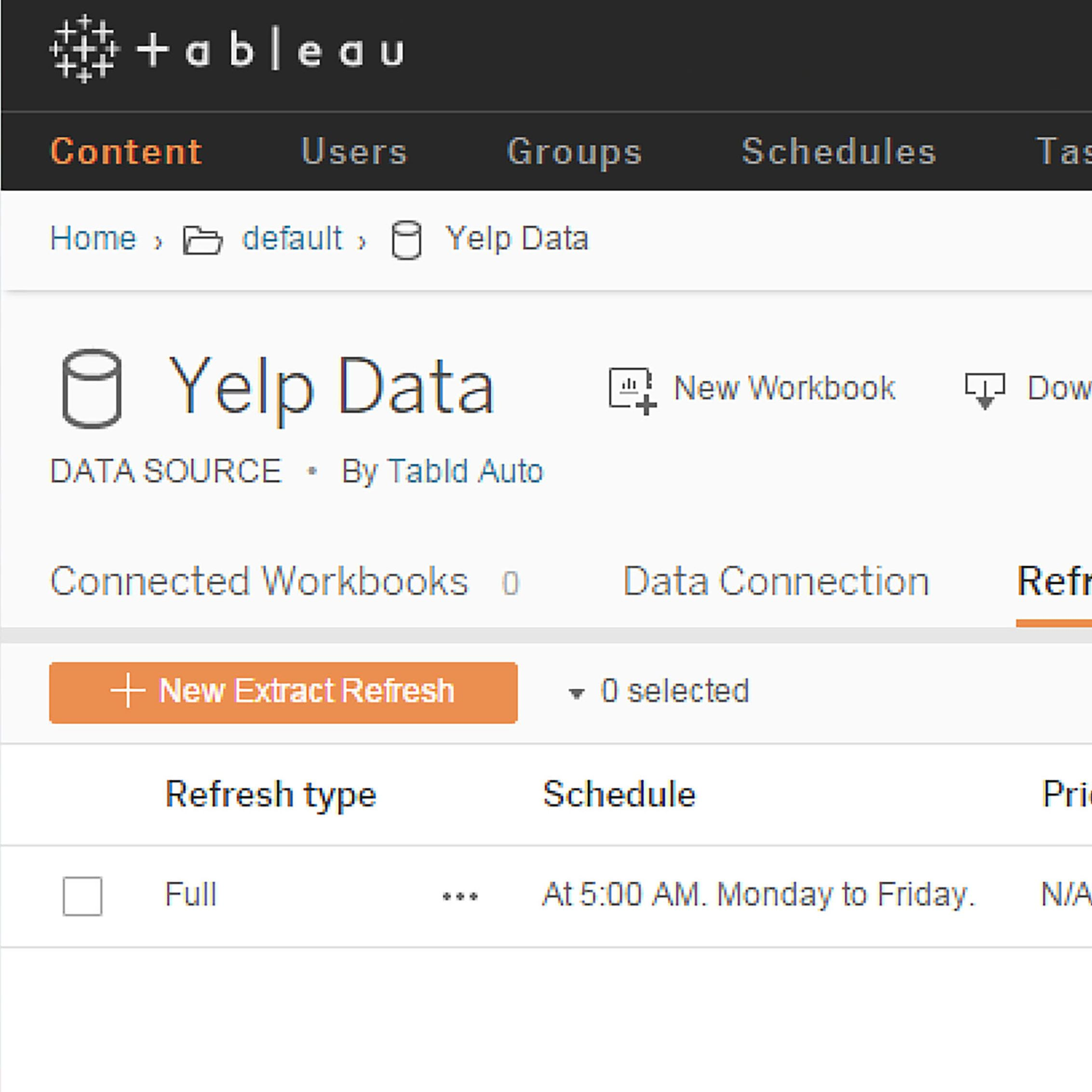 Image of Stay in the flow with Tableau Online 9.3