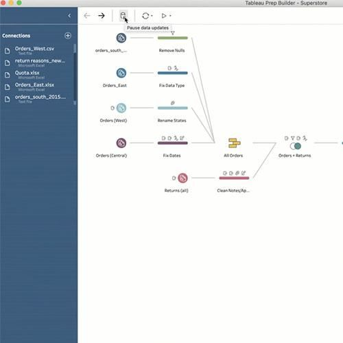 Image of New in Tableau Prep Builder: Bulk cleaning operations and better Tableau Server Compatibility