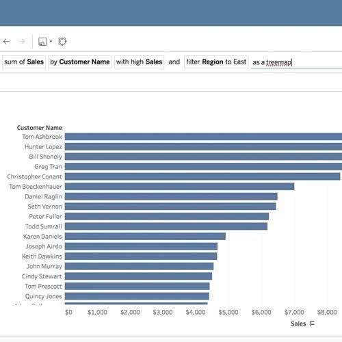 Ask Data: Simplifying analytics with natural language