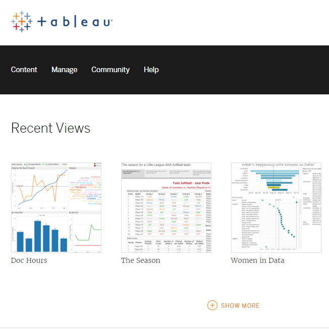 Image of MyALPO: How we gave every Tableau Server user a personalized homepage