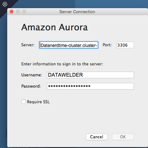 Image of Connect Directly to Amazon Aurora