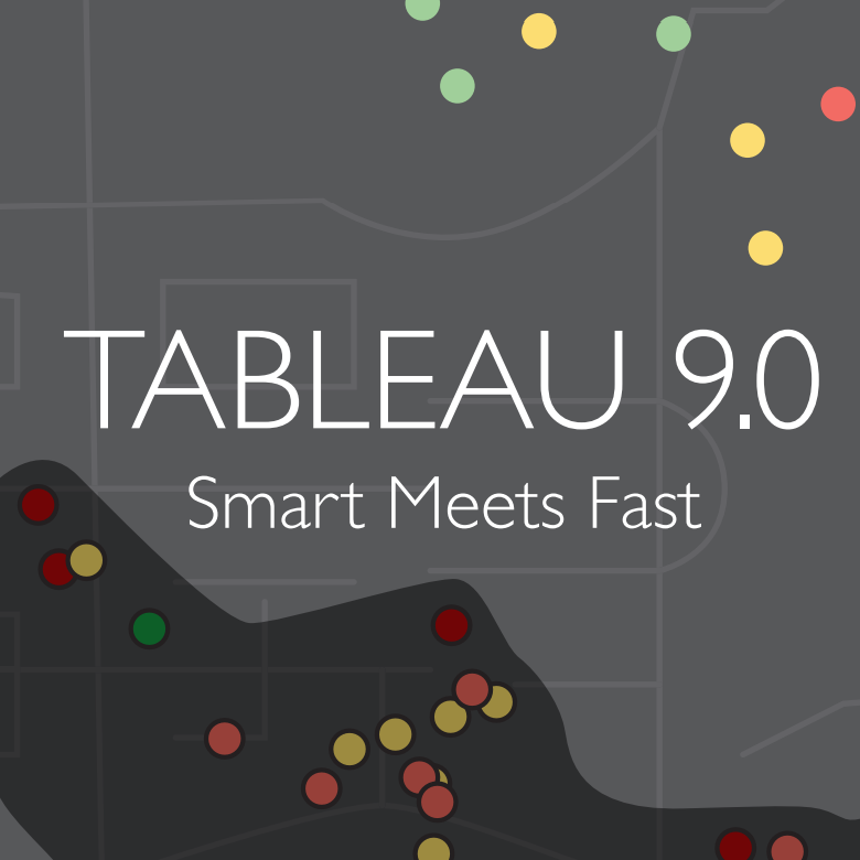 Smart Meets Fast - Tableau 9.0 の登場です。 の画像