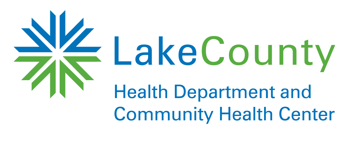 Lake County Health Department のロゴ