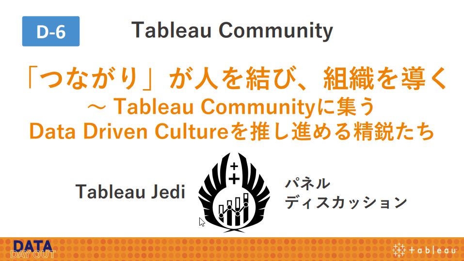Tableau Community に移動