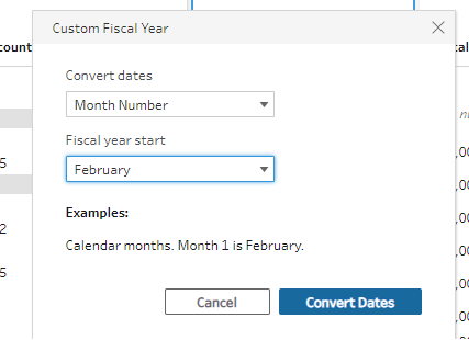 image of Custom Fiscal Dates