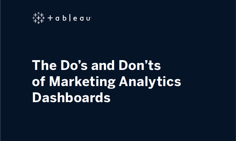 image of The Do's and Don'ts of Marketing Analytics Dashboards