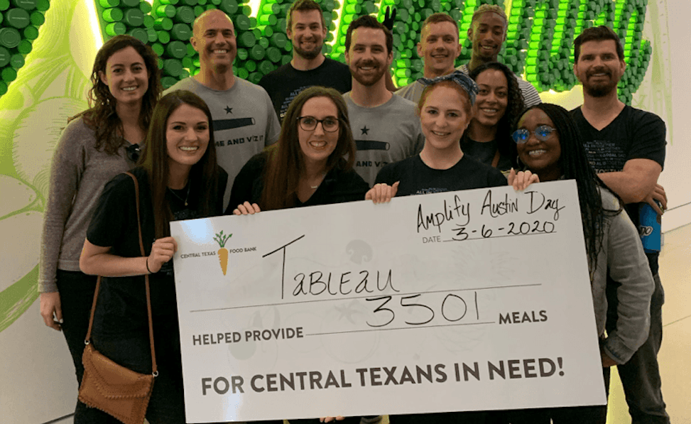 Navigate to Tableau Foundation's community grant program steps up for nonprofits during COVID-19