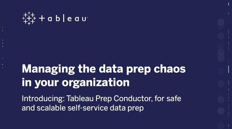 Passa a Whitepaper: Managing the data prep chaos in your organization