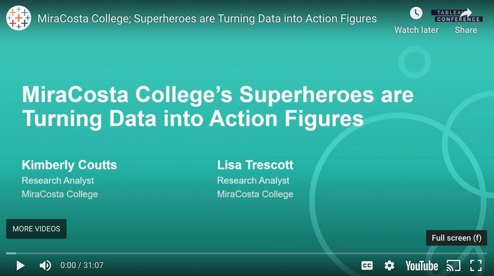 Passa a MiraCosta College; Superheroes are Turning Data into Action Figures