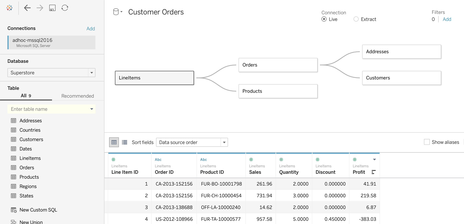 Image of Now available in Tableau: Relationships, Metrics, powerful analytics enhancements and more