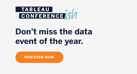 Navigate to Register for Tableau Conference 2020