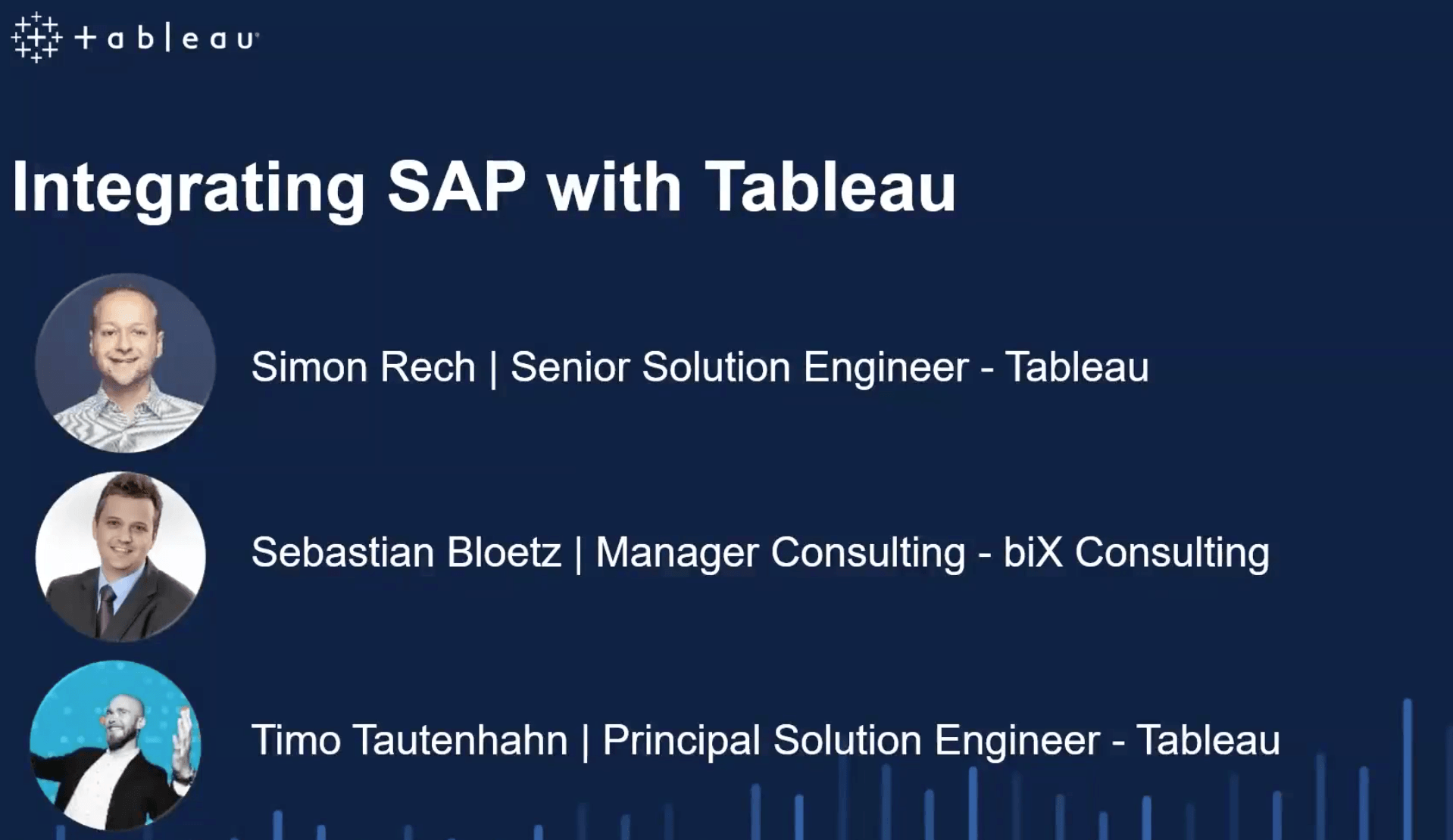 image of <p>Webinar: Integrating SAP with Tableau</p>