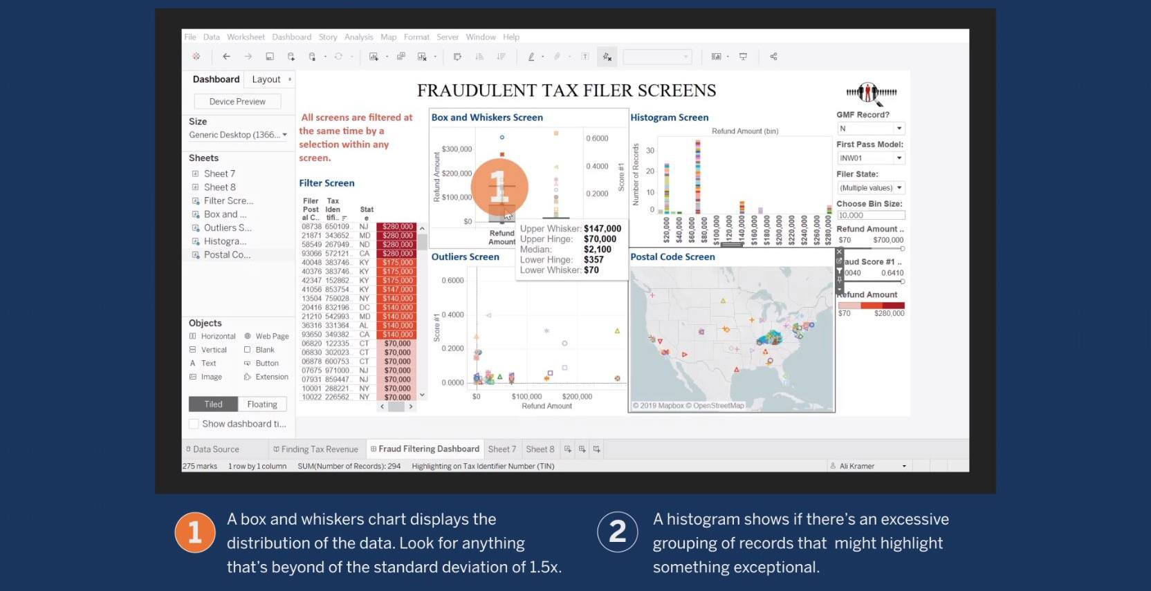Passa a Screen for Tax Fraud Using Data Analytics