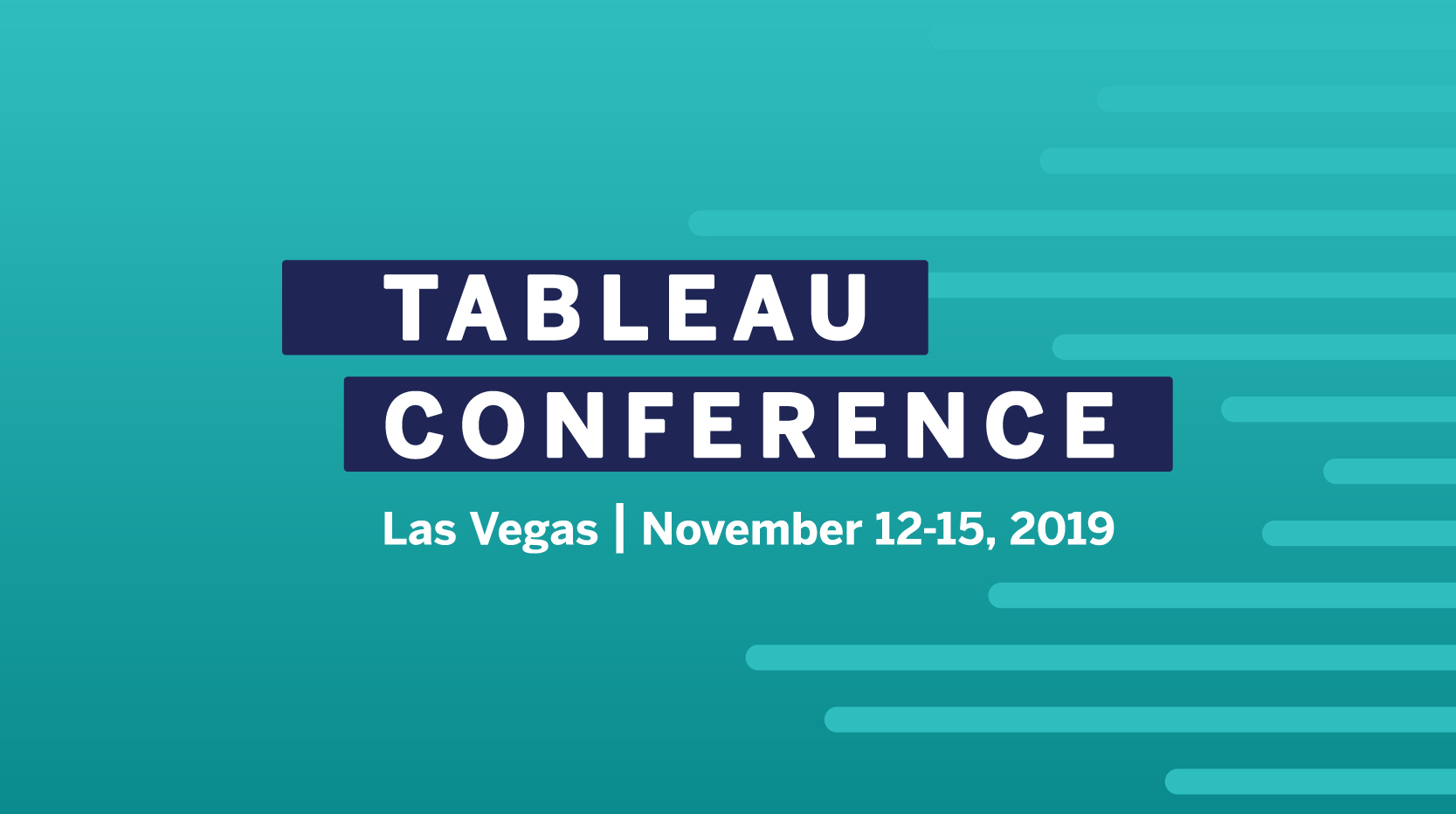 image of Tableau Conference 2019