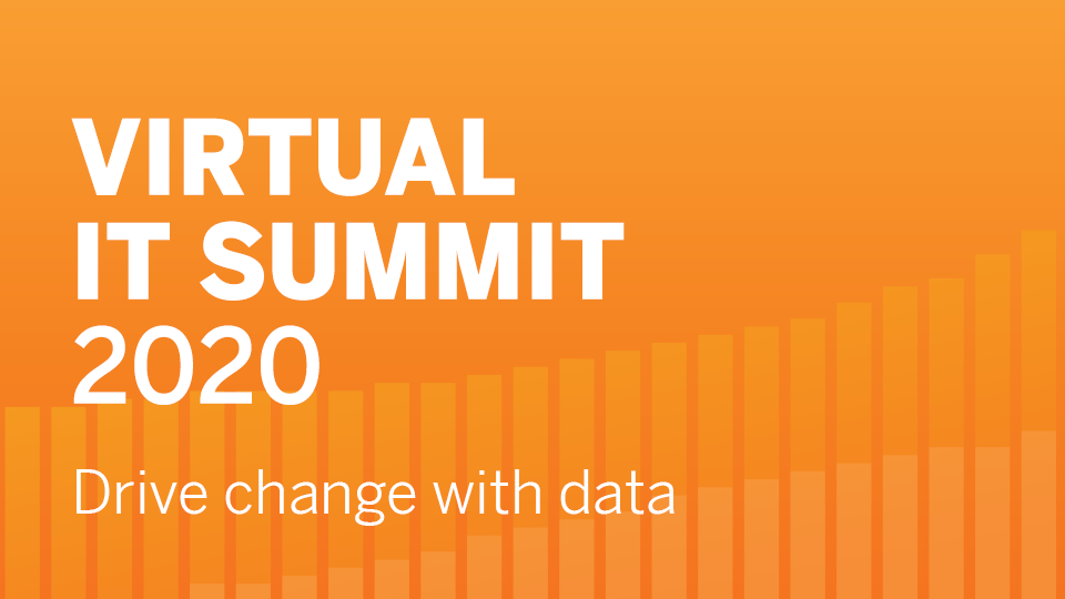 Tableau Virtual IT Summit 2020 | June 16 & 17