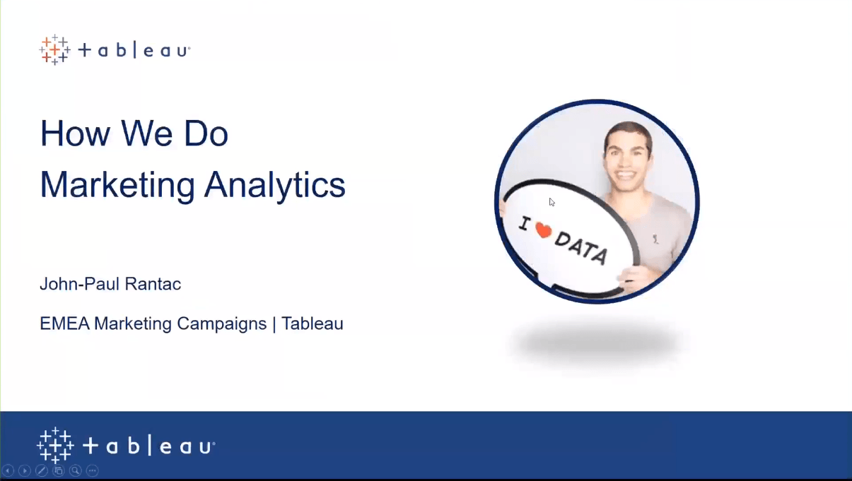 Passa a How Tableau uses Tableau to manage marketing programs