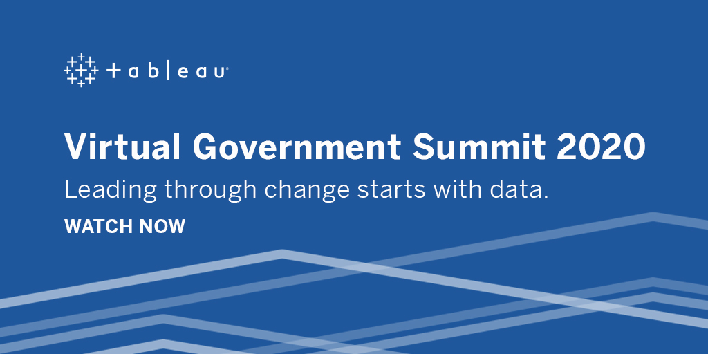 image of Tableau Government Summit 2020